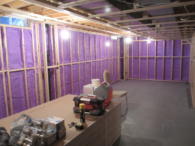 Basement Insulation In Greater Toronto Area